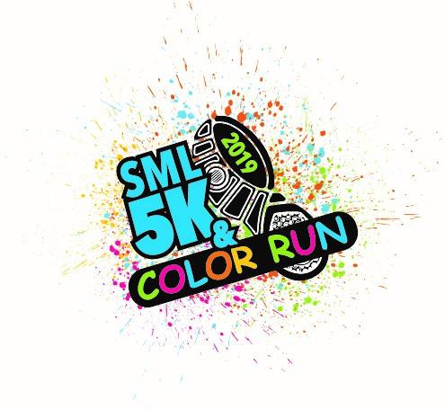 5k color run 2019 small size